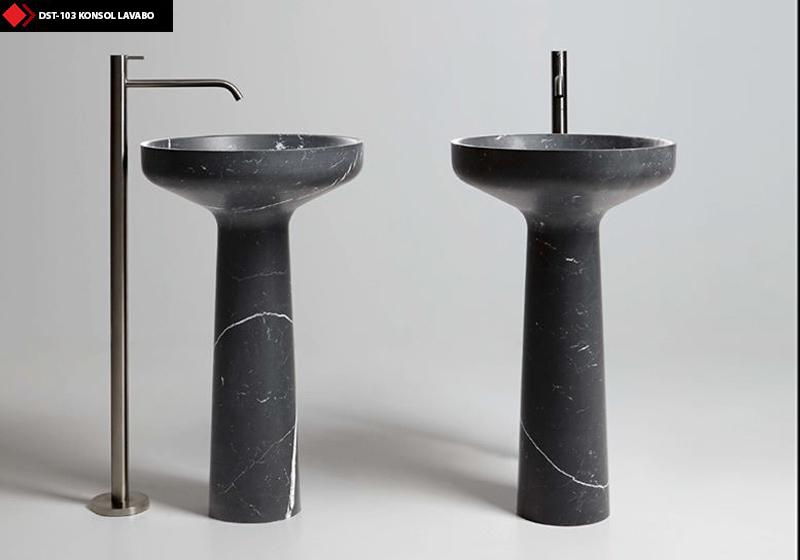 Toros black lavabo
