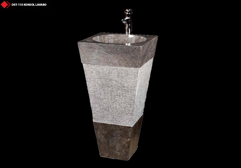 Doğal taş konsol lavabolar