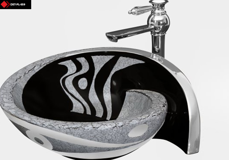 Tezgah üstü sanatsal tasarım lavabo