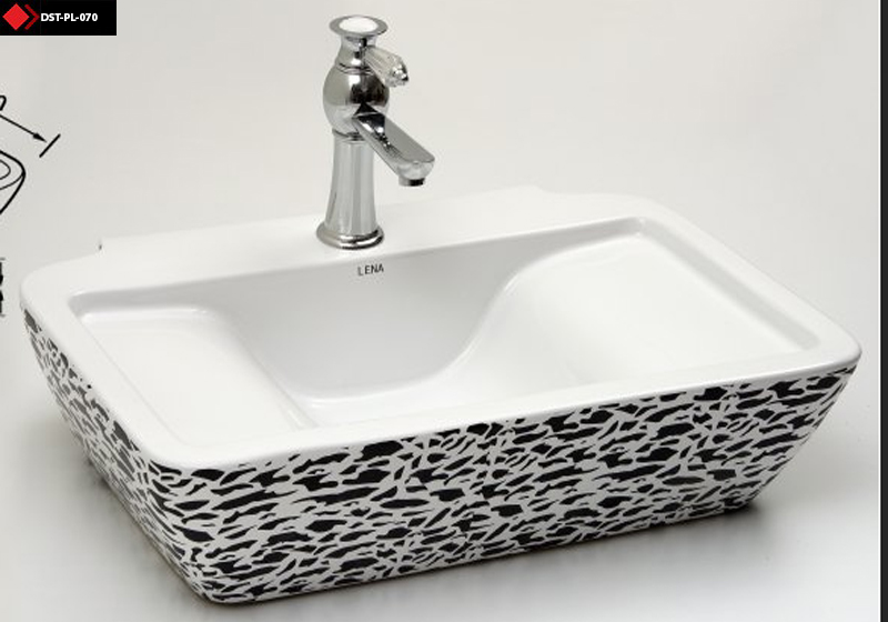 Özel çanak lavabo modeli