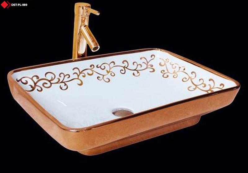 Roz gold lavabo modeli