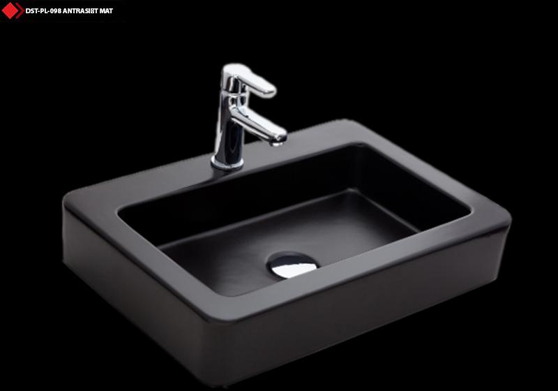 Antrasit seramik lavabo modelleri