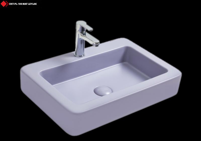 Mat leylak Sırlı lavabo