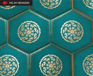 HG-101 Hexagon çini seramik