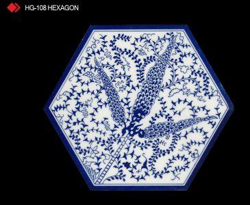 HG-108 Hexagon çini seramik
