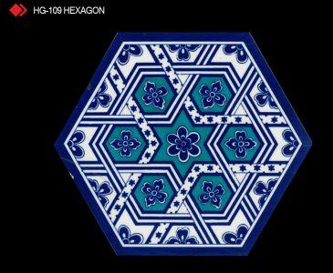 HG-109 Hexagon çini seramik