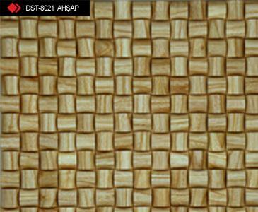 Ahşap Bambu Mozaik