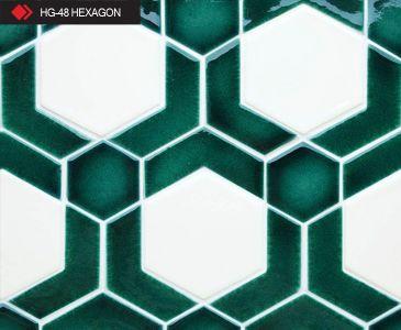 HG-48 Hexagon desenli 3d karo
