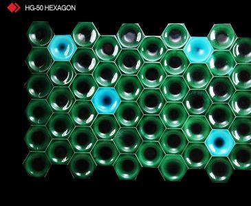 HG-50 Hexagon sırlı 3d karo