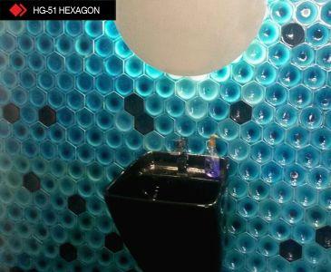 HG-51 Hexagon renkli 3d karo