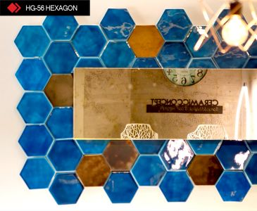 HG-56 Hexagon rölyefli karo