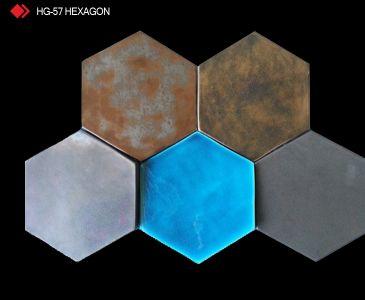 HG-57 Hexagon 3d metalik karo
