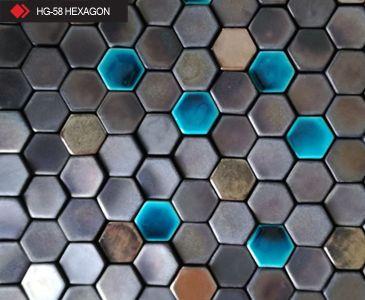HG-58 Hexagon 3d metalik karo
