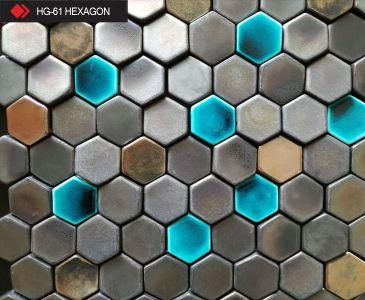 HG-61 Hexagon 3d metalik karo
