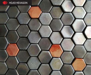 HG-63 Hexagon 3d metalik karo