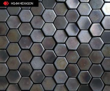 HG-64 Hexagon 3d metalik karo