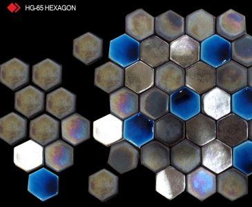 HG-65 Hexagon 3d metalik karo