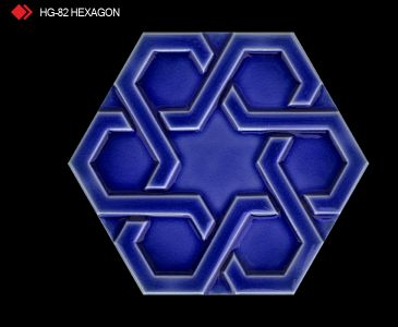 HG-82 Hexagon röylyefli karo