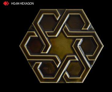 HG-84 Hexagon röylyefli karo