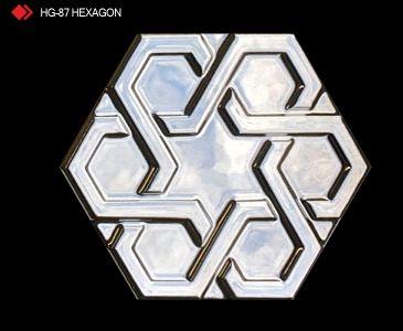 HG-87 Hexagon röylyefli karo