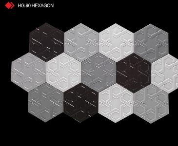 HG-90 Hexagon röylyefli karo
