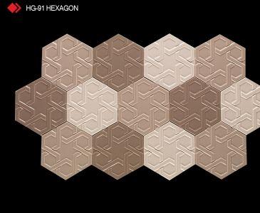 HG-91 Hexagon röylyefli karo