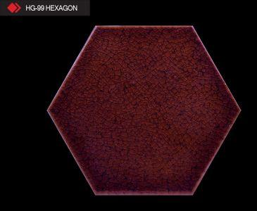 HG-99 Hexagon çini seramik