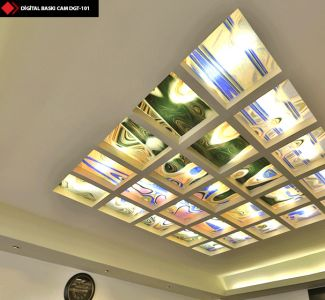Dijital Cam tavan sanat panoları