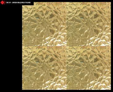 20x20 Selçuklu yıldızı gold