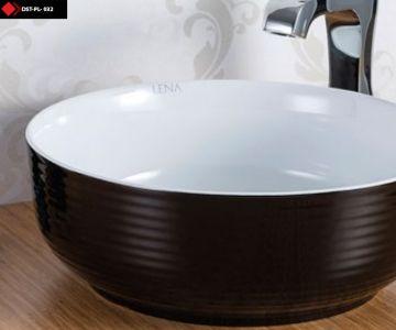 Siyah beyaz Porselen lavabo