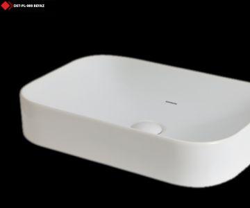 Beyaz Dikdörtgen lavabo