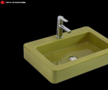 Yesil lavabo modelleri