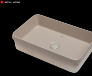 Sara mat renli ozel tasarım lavabo