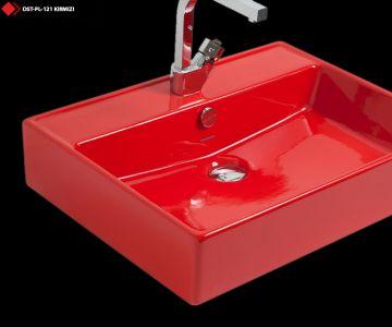 Kırmızı lavabo cesitleri