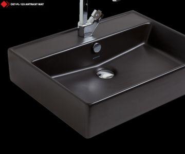Otel lavabo modelleri siyah