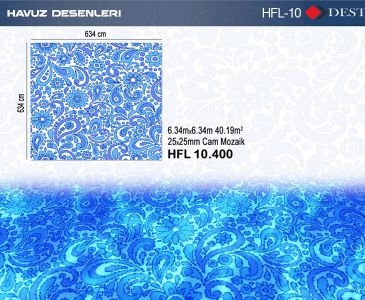 HFL-10 Mozaik Deseni