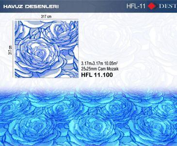 HFL-11 Mozaik Deseni