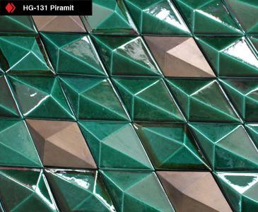 El Yapımı Piramit Tile