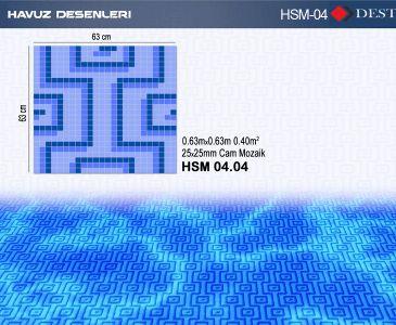 HSM-04 Mozaik Deseni