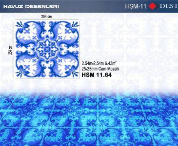 HSM-11 Mozaik Deseni