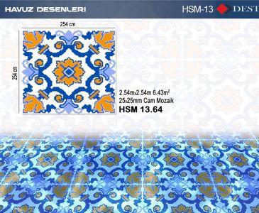 HSM-13 Mozaik Deseni