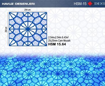 HSM-15 Mozaik Deseni