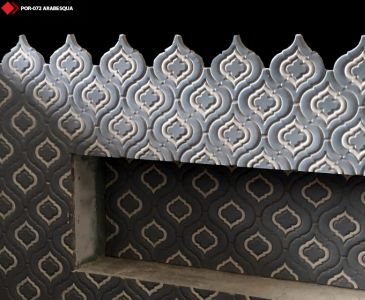 Arabesqua tile
