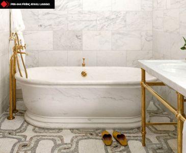 Banyo mermer lavabo görselleri