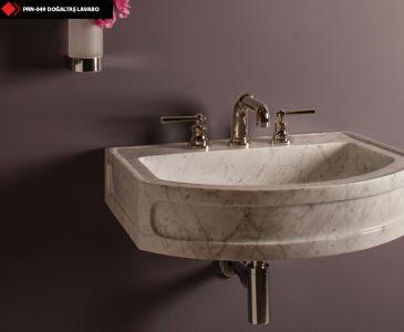 Doğaltaş lavabo çeşitleri