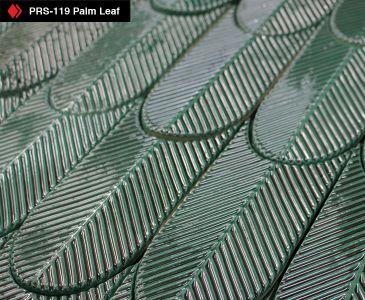 Green Palm Leaf Tile