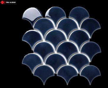 Kobalt rengi mozaik