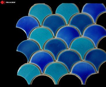Balık pulu porselen seramik