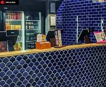 Cafe bar önü karo modelleri
