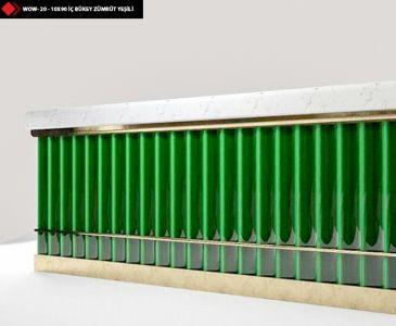 Tezgah önü yeşil seramik karo